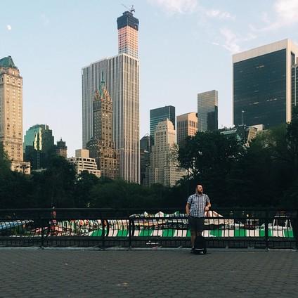 Ярослав в Центральном парке